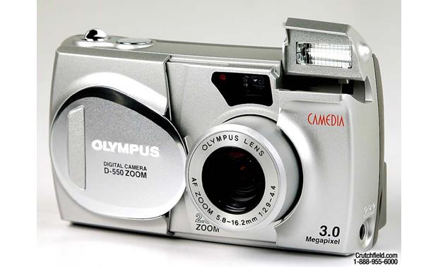 olympus camedia d 550 zoom digital camera with smartmedia card at rh crutchfield com Kodak 3X Optical Zoom Manual olympus d-550 zoom manual