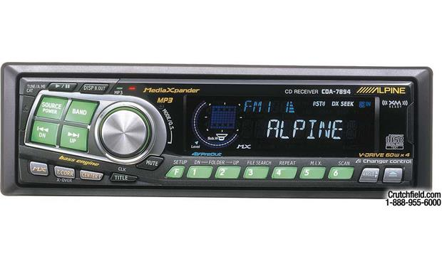 x500CDA7894 alpine cda 7894 cd mp3 receiver with ai net cd changer controls at alpine cda 7893 wiring diagram at panicattacktreatment.co