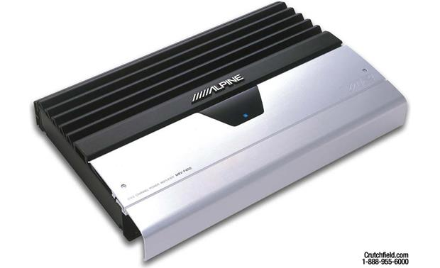 x500MRVF450 alpine mrv f450 5 channel car amplifier 50 watts rms x 4 200  at mifinder.co