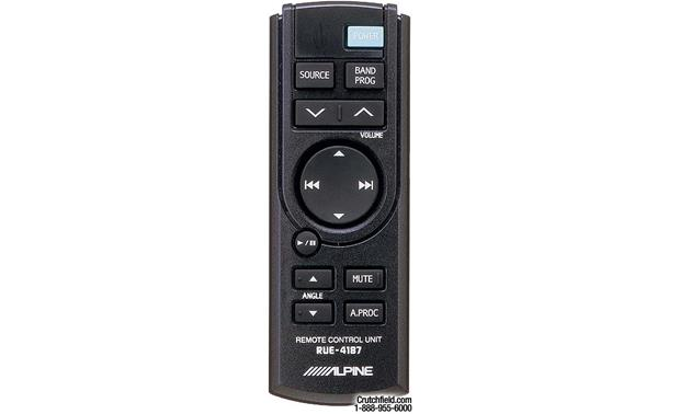 Alpine CDA-9833 Remote