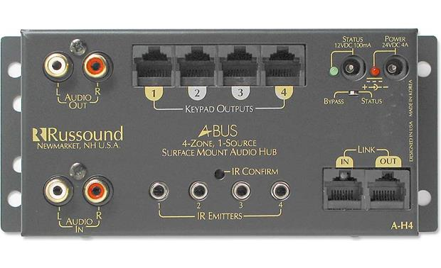 russound a h4 1 source 4 zone a distribution hub on research at crutchfield