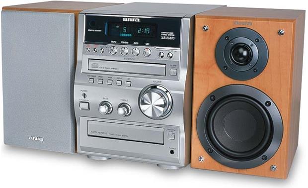 Micro Shelf System Aiwa XR EM70 Front