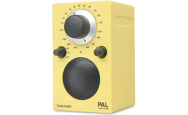 tivoli audio pal neon yellow henry kloss portable radio at. Black Bedroom Furniture Sets. Home Design Ideas