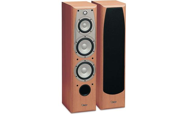 Infinity Alpha 40 Cherry Tower Speakers At Crutchfield Com