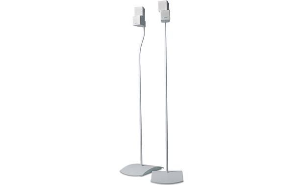 bose ufs 20 universal floor stands white pair at. Black Bedroom Furniture Sets. Home Design Ideas