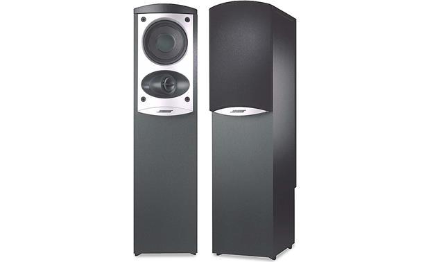 Bose 174 601 Series Iv Black Floor Standing Speakers At