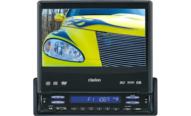 x020VRX745 f_MT clarion proaudio vrx745vd dvd cd mp3 receiver with 7\