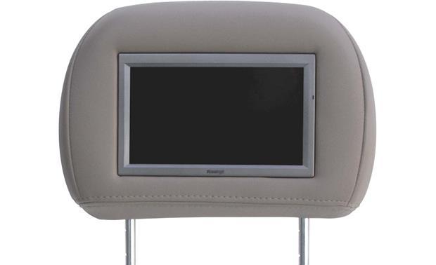Vizualogic Headrest Monitor (Medium Gray Cloth) Cloth ... on