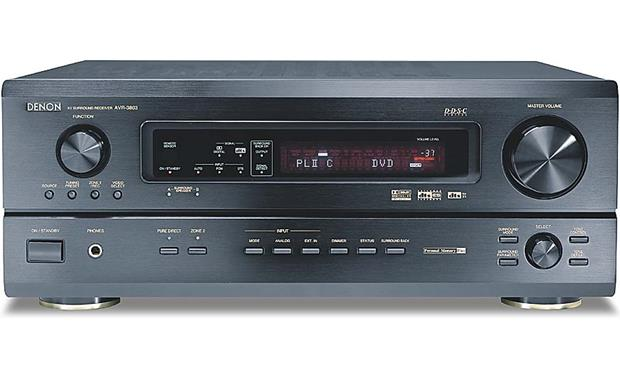 Denon AVR-3803 (Black) Home theater receiver with Dolby Digital EX