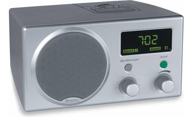 boston acoustics recepter radio gray am fm clock radio with dual rh crutchfield com Boston Acoustics A150 Speakers Boston Acoustics A150 Speakers