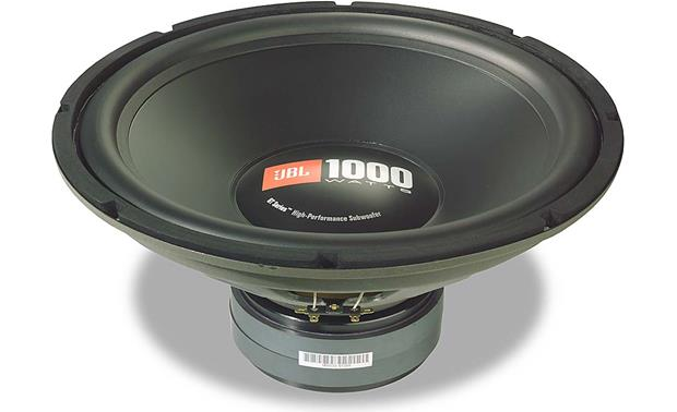 Jbl Gt150 Gto Series 15 Component Subwoofer At
