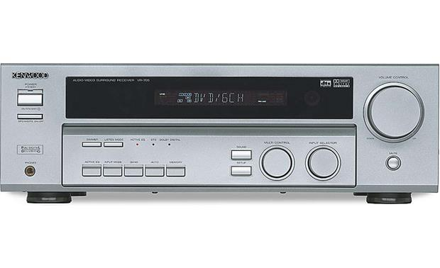 Kenwood VR-705 (Silver) A/V receiver with Dolby Digital, DTS and Pro