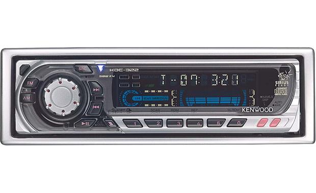 kenwood kdc 322 cd receiver with cd changer controls at crutchfield com rh crutchfield com Kenwood Instruction Manual Kenwood User Manuals KDC 122U