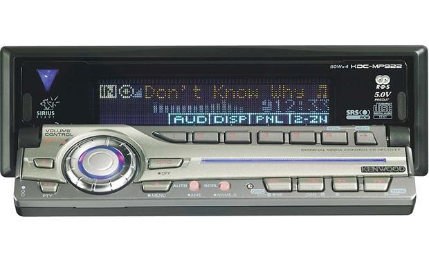 kenwood kdc mp922 cd mp3 receiver with cd changer controls. Black Bedroom Furniture Sets. Home Design Ideas