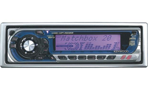 kenwood kdc mpv6022 cd mp3 receiver with cd changer controls at rh crutchfield com Kenwood KDC X895 Kenwood KDC MP235 Manual