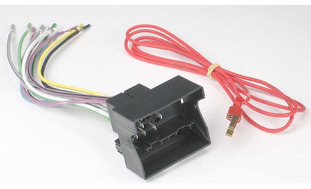metra 70 9003 receiver wiring harness connect a new car stereo in metra 70 9003 receiver wiring harness wiring harness and included red 12 volt accessory