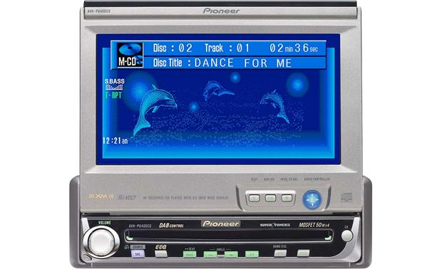 Swell Pioneer Avh P6400Cd Cd Receiver 6 5 Video Monitor At Crutchfield Com Wiring Digital Resources Counpmognl