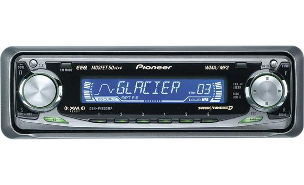 pioneer deh p4600mp cd mp3 wma receiver with cd changer controls at  pioneer deh p4600mp wiring diagram #12