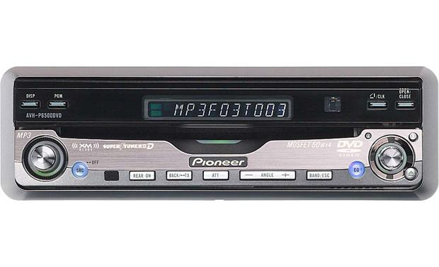 Pioneer AVH-P6500DVD Closed