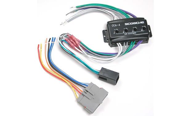 Scosche C4FDK5 Wiring Interface Front