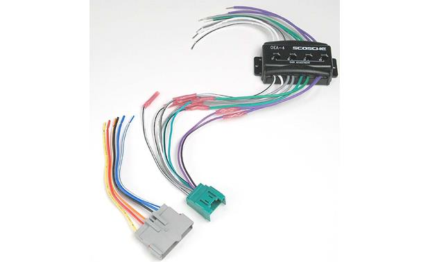 Scosche CFDK6 Wiring Interface Front
