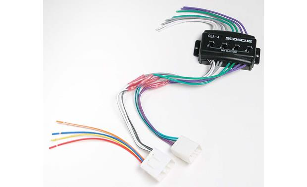 Scosche C4ma02 Wiring Interface Allows You To Connect A