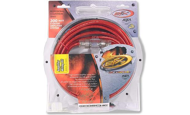 efx 300 watt amp wiring kit Winch Wiring Kit