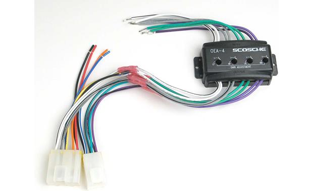 Scosche CNN02 Wiring Interface Front