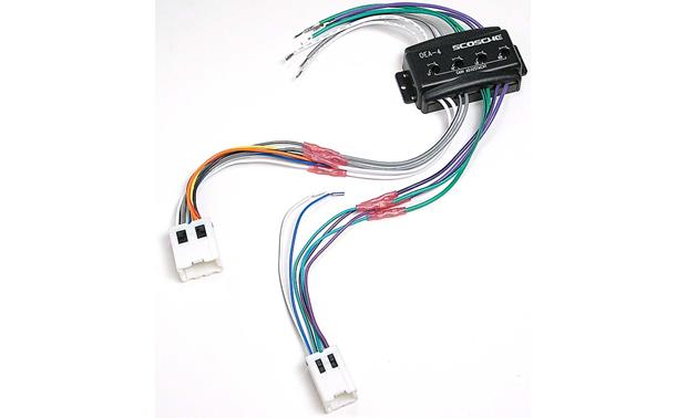 Scosche Cnn03 Wiring Interface Allows You To Connect A New