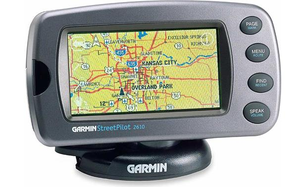 garmin streetpilot 2610 in car gps navigation system at crutchfield com rh crutchfield com garmin 610 manual pdf garmin 210 manual