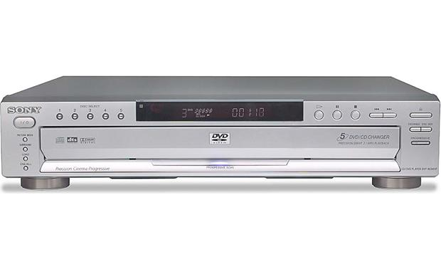 sony dvp nc665p silver 5 disc carousel dvd cd changer with rh crutchfield com sony dvp nc655p manual Sony Tape Deck