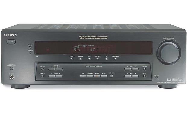 sony str de595 home theater receiver with dolby digital dts and rh crutchfield com Sony FM AM Receiver STR-DE595 Sony 5 1 Receiver STR-DE595 500 Watt