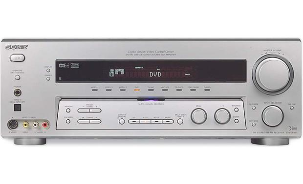 sony str de995 silver home theater receiver with dolby digital ex rh crutchfield com sony str de695 manual Sony STR K660p
