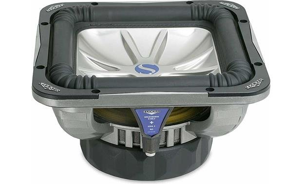 """Kicker Solo-Baric L7 S10L74 10"""" subwoofer with dual 4-ohm voice ..."""