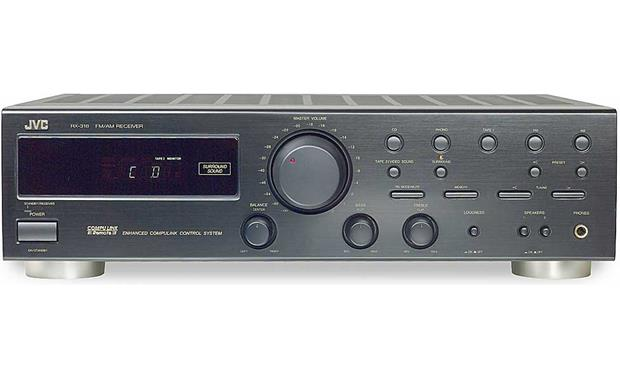 Jvc rx-318bk stereo receiver at crutchfield. Com.