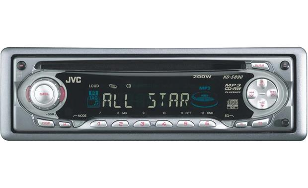 jvc kd s890 cd mp3 receiver features specs at. Black Bedroom Furniture Sets. Home Design Ideas