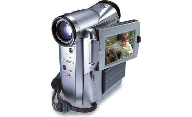 canon elura 50 mini dv digital camcorder at crutchfield com rh crutchfield com Canon GL2 Canon Elura 60 Camcorder