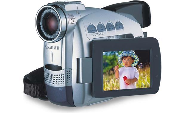 Canon ZR60 Front