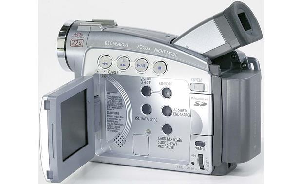 Canon ZR90 Mini DV digital camcorder at Crutchfield