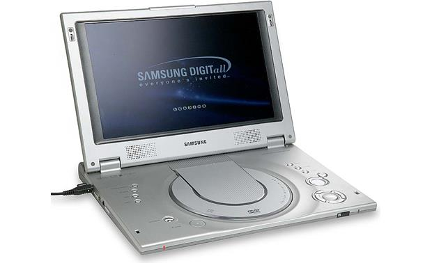 samsung dvd l200 portable dvd cd player with 10 lcd at. Black Bedroom Furniture Sets. Home Design Ideas