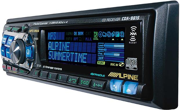 Alpine CDA-9815 Other