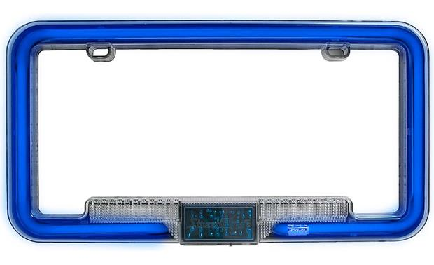 StreetGlow Neon License Plate Frames Neo-Blue