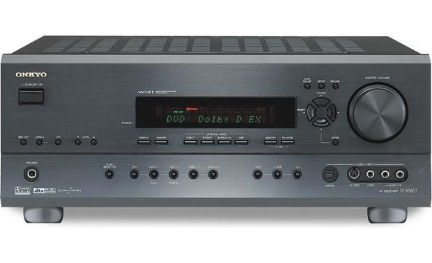 onkyo tx sr601 black home theater receiver with dolby digital ex rh crutchfield com