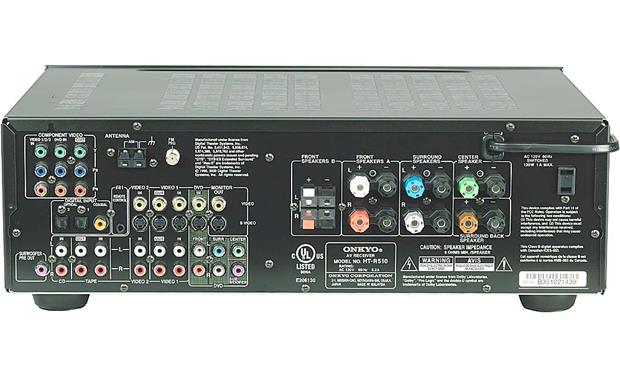 Onkyo HT-S760 Receiver (back)