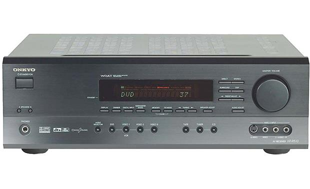 Onkyo HT-S760 Receiver (front)