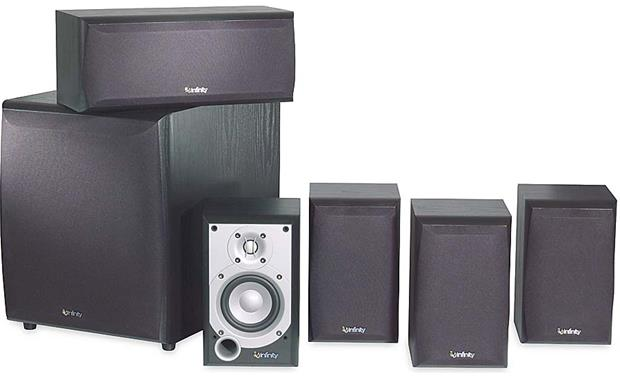 infinity surround speakers. infinity primus\u003cbr\u003etheater pack/ps-10 front surround speakers f