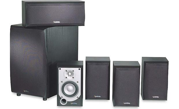 infinity home speakers. infinity primus \u003cbr\u003etheater pack/ps-8 front home speakers