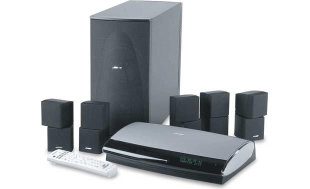 Bose Lifestyle 38 System System With Black Satellites Dvd Home Theater System With Umusic At Crutchfield