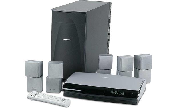 Bose® Lifestyle® 38 System System with silver satellites