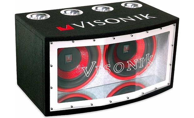 visonik bass package enclosure